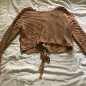 Forever 21 cropped sweater!